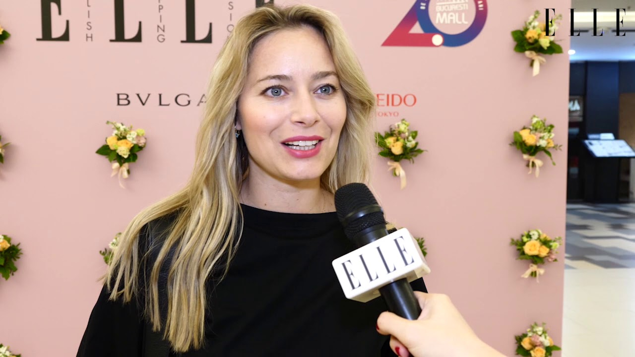 Laura Cosoi, la ELLE Stylish Shopping Session powered by București Mall-Vitan
