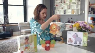 Haba Toys Review: Sewing Toys and Stacking Animals Thumbnail