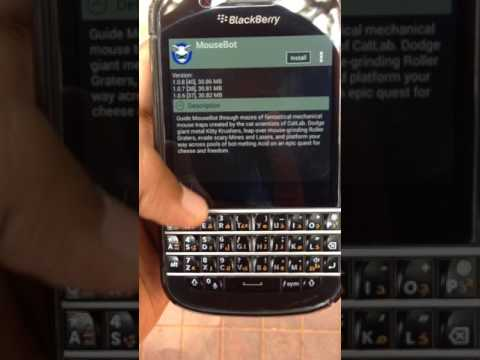 How To Download Android Apps On Q10,q20,passport