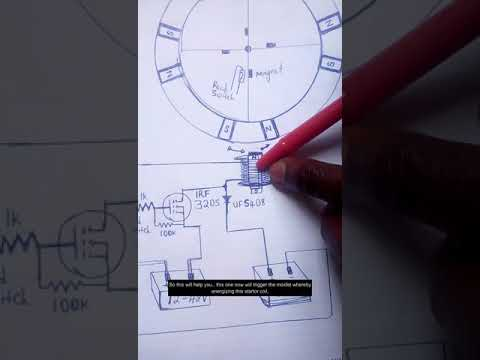 A Nigerian inventor invent a powerful free energy pulse motor with BLDC Motor concept