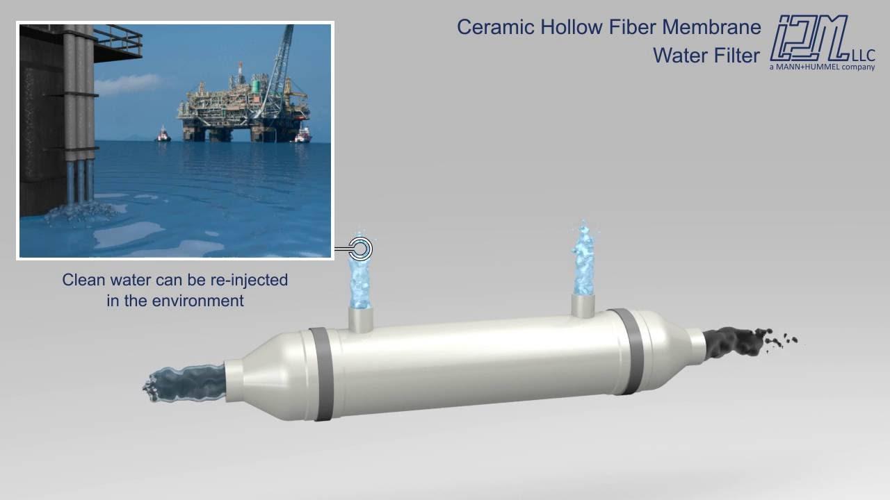 Ceramic Hollow Fiber Membrane Filtration Youtube