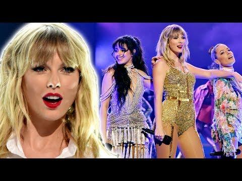 Taylor Swift Se Apoderó De Los Amas 2019 Con Su Presentación