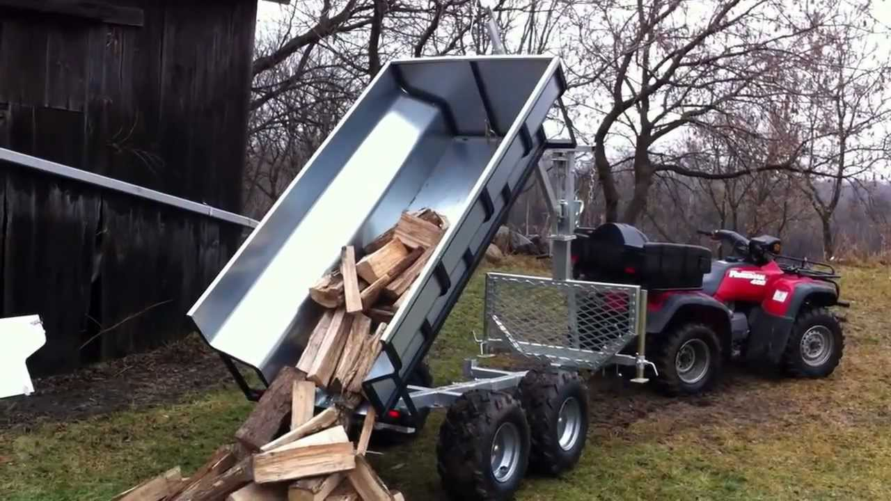 Atv Trailer By T Rex Trailers Youtube