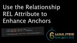 Relationship (REL) Attribute for Anchors