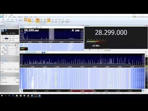 K6FRC/B 28.300mhz transmitting 100W received in Kitchener, Ontario.