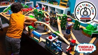 Thomas and Friends | New Thomas Train Wooden Railway Table with Brio! Fun Toy Trains for Kids thumbnail