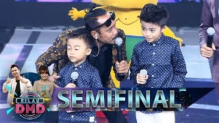 Wow Keren Banget! Afan& Haikal Kasih TATATA Buat Penonton - Semifinal Kilau DMD 9/3