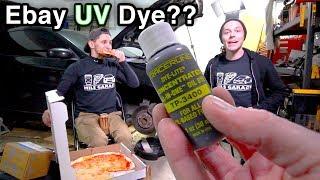 UV Dye Oil Leak Test [ Tracerline Dye-lite Ebay Buy?? // G35 ]