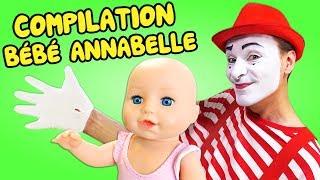 Compilation de vidéos pour enfants de Baby Annabell en français. Jeux et jouets