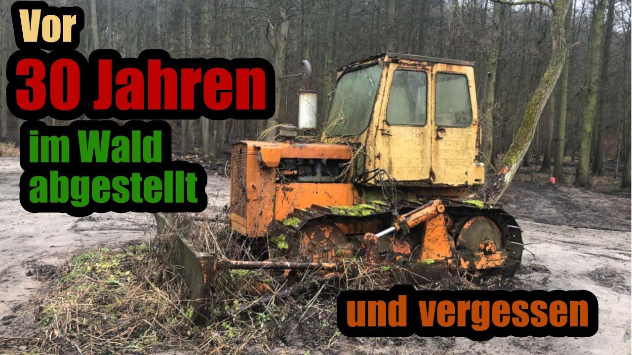 Ich habe die günstigste Planierraupe Deutschlands gekauft