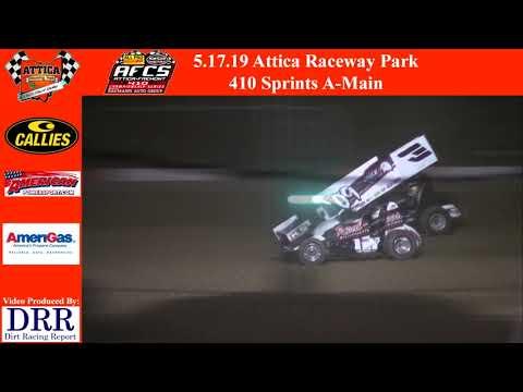 5.17.19 Attica Raceway Park 410 Sprints A-Main