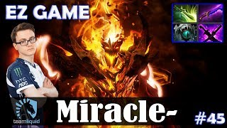 Miracle - Shadow Fiend MID | EZ GAME + ULTRA KILL | Dota 2 Pro MMR Gameplay #45