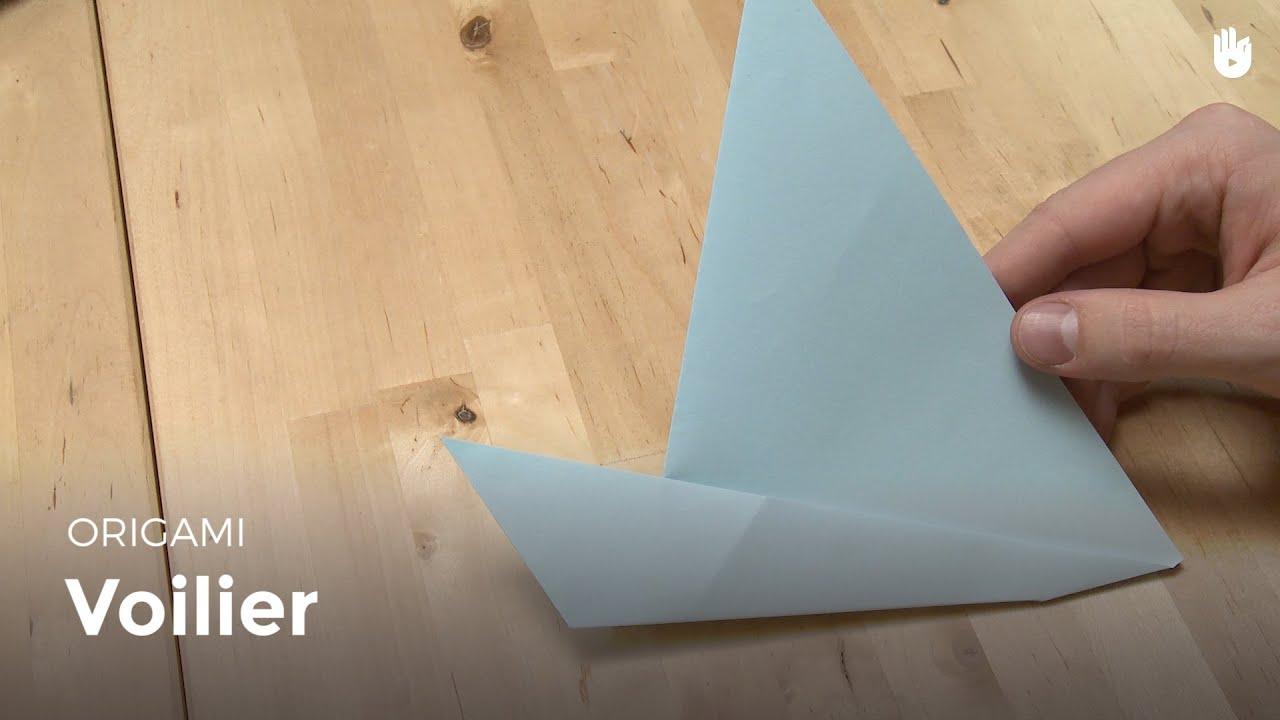 Faire Un Voilier En Papier Origami Youtube