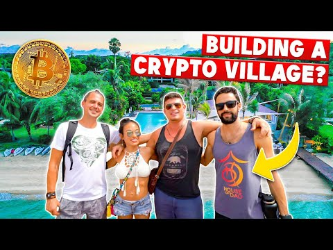 World's First REAL LIFE Crypto Village! - House of Dao Location Scouting