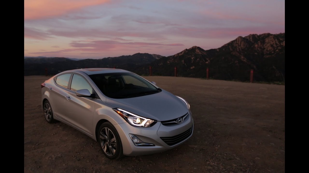 2014 Hyundai Elantra Review Edmunds Com Youtube