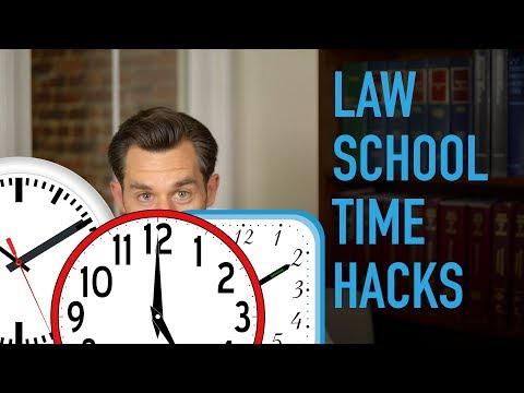 Life Hacks for Law School Success