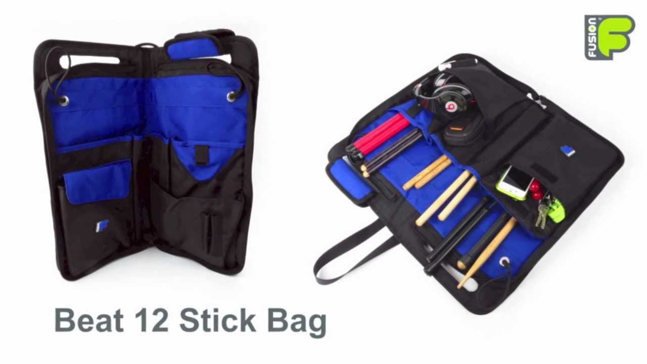 Drummer Beat 12 Stick Bag By Fusion