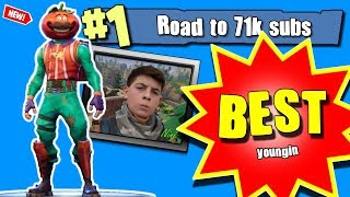 Best 12 Year Old Fortnite Player / Road to 71k Giveaway