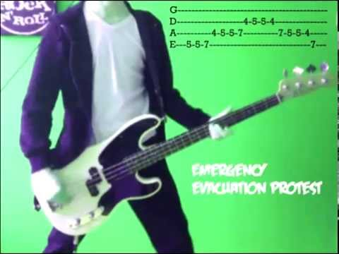 GREEN DAY - Warning (bass cover)