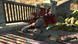 Fallout 4 blood and violence kill montage