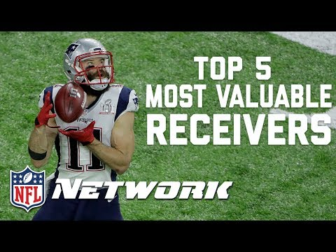 Top 5 Most Valuable Receivers Heading into the 2017 Season | GMFB | NFL Network