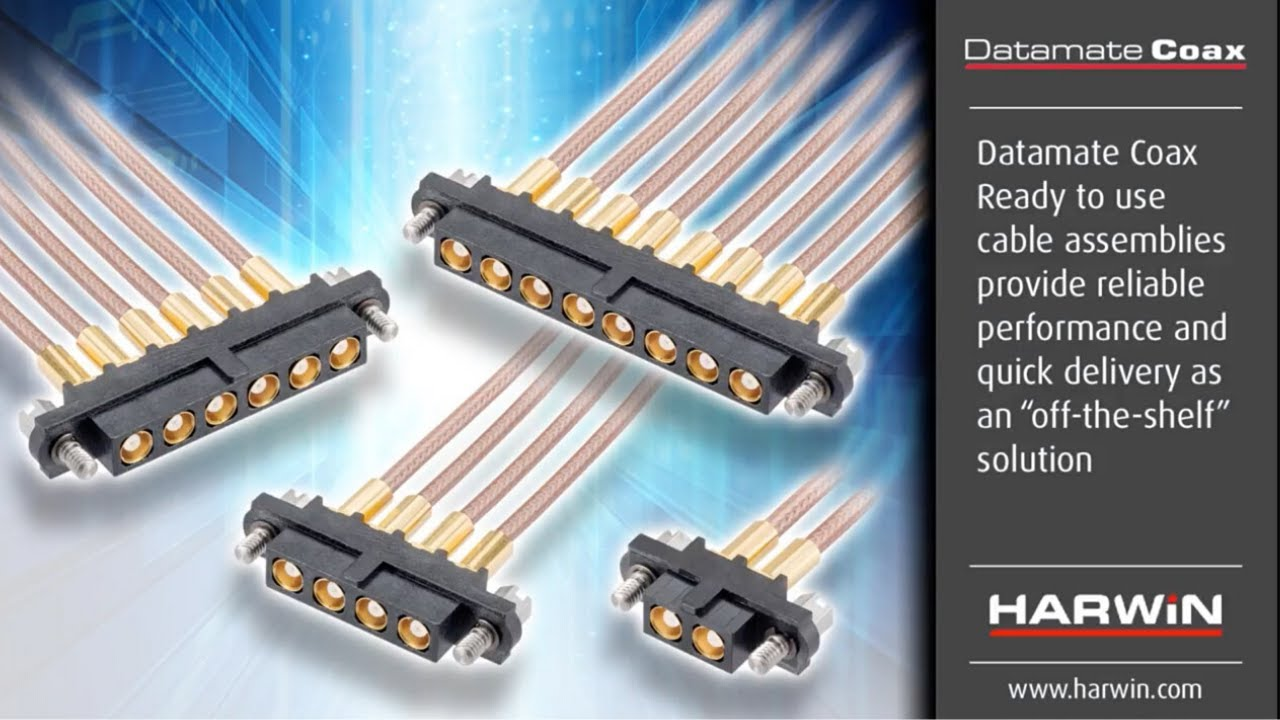 Youtube video for Datamate Coax Cables