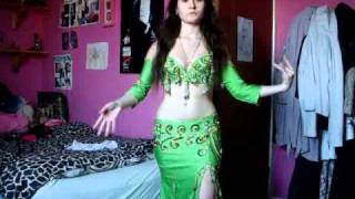 The different belly dance styles and costumes.wmv