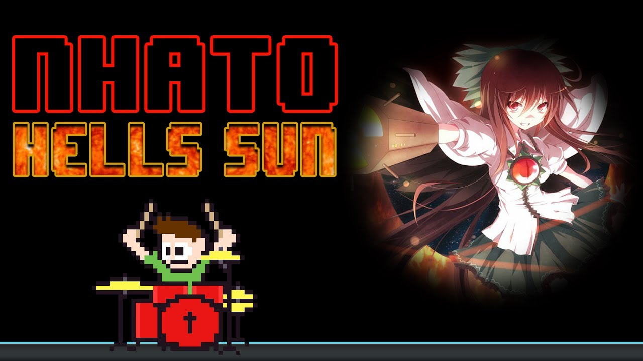 nhato-hell-s-sun-touhou-blind-drum-cover-the8bitdrummer-the8bitdrummer