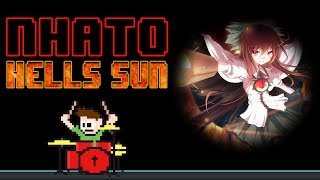 Nhato - Hell's Sun [Touhou] (Blind Drum Cover) -- The8BitDrummer