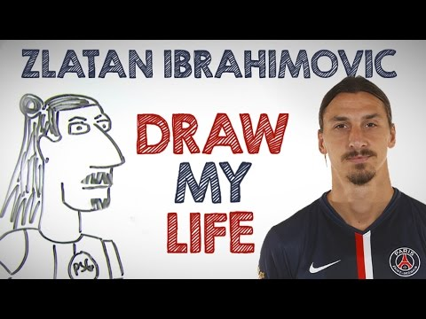 Zlatan Ibrahimovic | Draw My Life