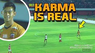 Download Video LIHATLAH !! Awalnya Satria Tama Sombong Akhirnya Dihancurkan Bali United vs Madura United MP3 3GP MP4