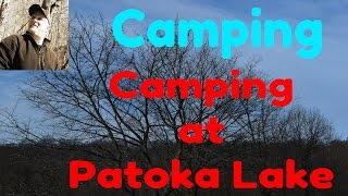Camping at Patoka Lake Indiana