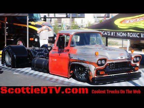 1958 Chevrolet Viking 40 Farm Truck Street Truck   Mid-Engine The SEMA Show 2017