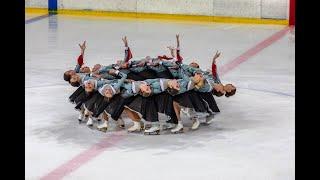 Команда САНРАЙЗ 1 Санкт Петербург 2019 Синхронное фигурное катание на коньках