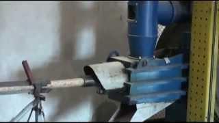 Пресс  для производства брикетов из  опилок, шелухи, лузги, соломы(, 2013-08-06T12:18:29.000Z)