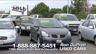 Ron DuPratt Voted #1 Used Car Dealership in Solano County California!