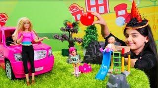 Cadı Emily ve Barbie ile eğlenceli video! Çocuk videosu