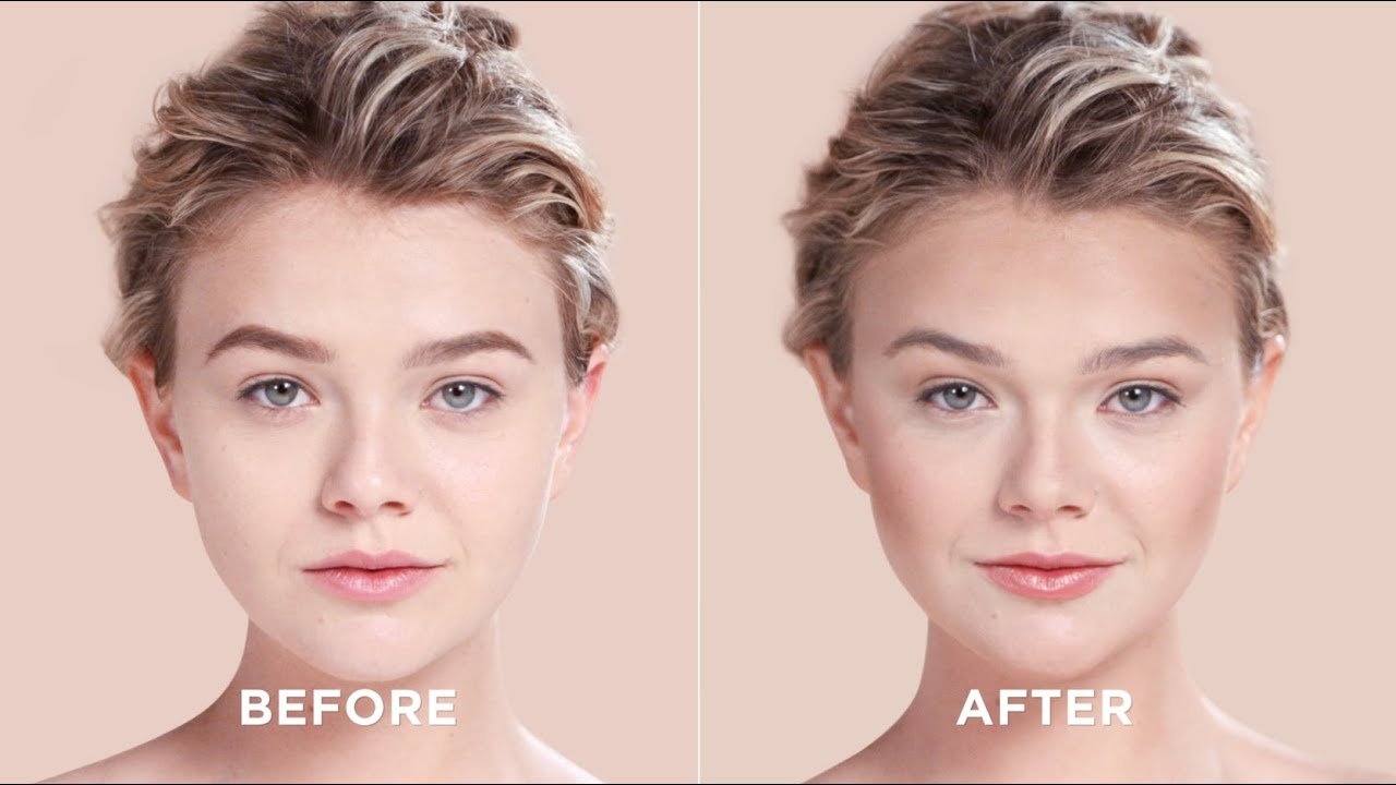 How To Contour Your Heart Shaped Face Sephora Youtube