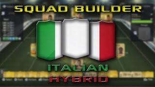 Fifa 15 - Squad Builder - Italian Hybrid Thumbnail
