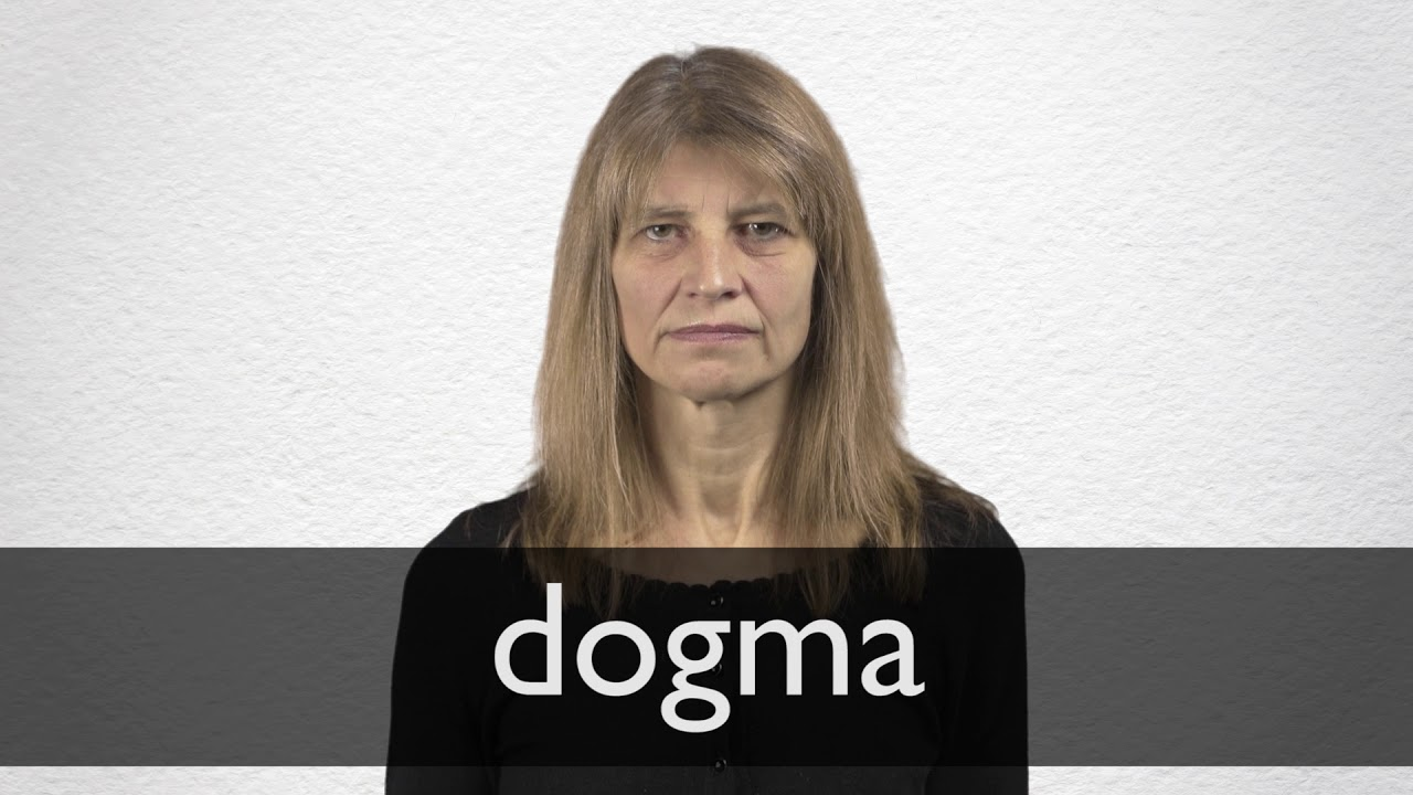 Dogma Definition And Meaning Collins English Dictionary