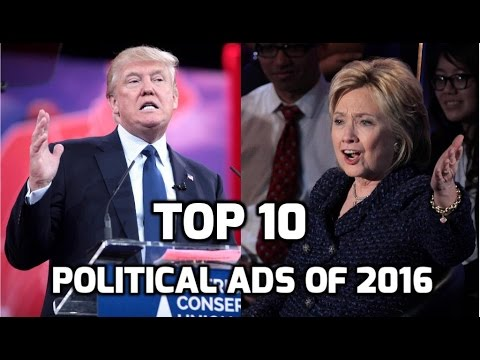 Top 10 Political Ads of 2016