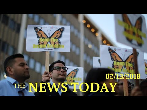 Second U.S. Judge Blocks Trump Administration From Ending DACA Program | News Today | 02/13/201...
