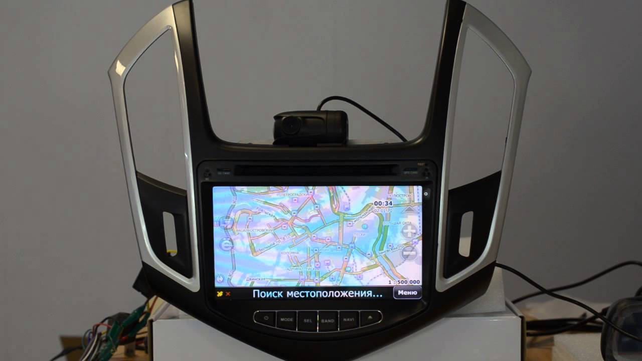 Штатное головное устройство Chevrolet Cruze - автомагнитола .