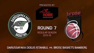 Highlights: Darussafaka Dogus Istanbul-Brose Baskets Bamberg