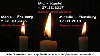 Unvergessen... Maria, Mia, Susanna... Opfer des Multikulti- und Asylwahns