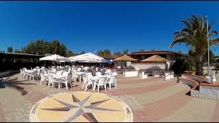 Video 360 del bar al Camping Onda Azzurra di Corigliano Calabro, provincia di Cosenza, in Calabria