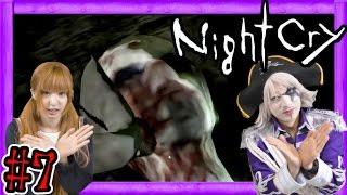 #7【ホラー】NightCry|ゴー☆ジャスと渚の恐怖の脱出劇【GameMarketのゲーム実況】