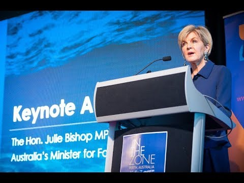 In The Zone: The Blue Zone 2017 - The Hon Julie Bishop MP