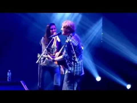 Ed Sheeran & Christina Perri - Be My Forever - Orlando 2015