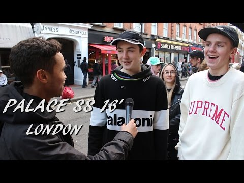 Palace Spring/Summer 16' Collection - Palace or Supreme?